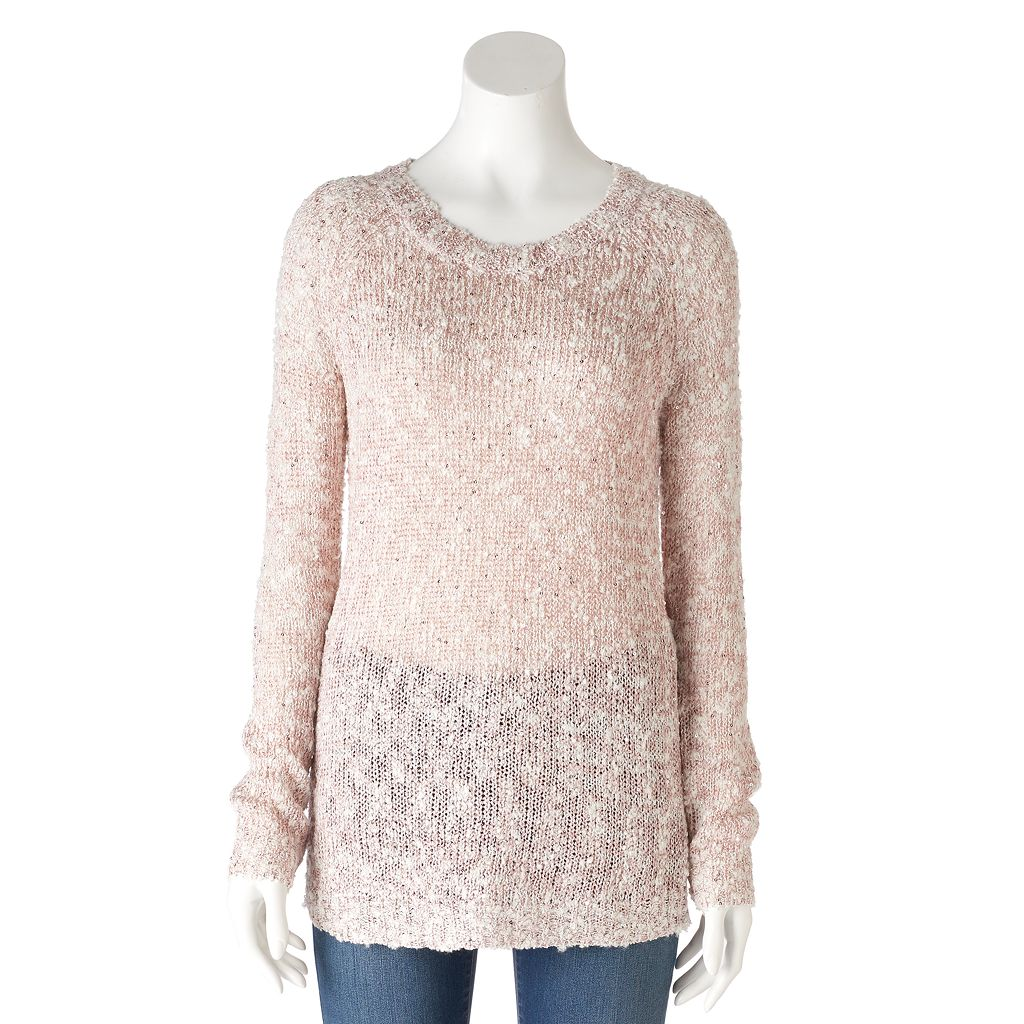 Women's Olivia Sky Sequin Crewneck Sweater