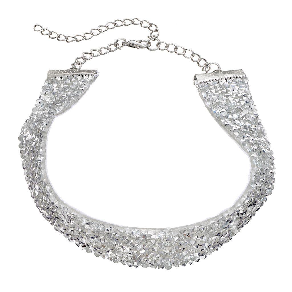 Mudd® Studded Wide Choker Necklace