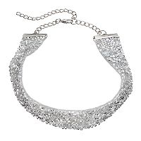 Mudd® Studded Wide Choker Necklace