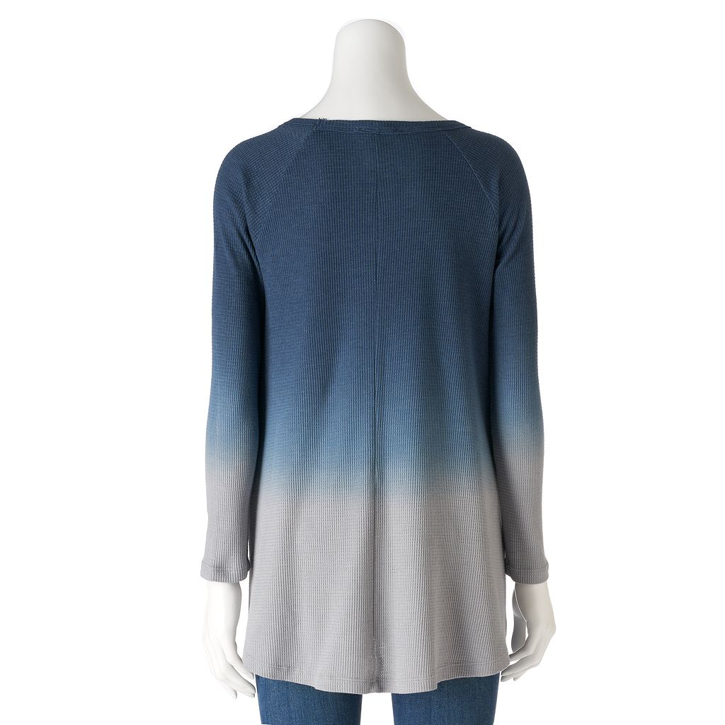 Women's Olivia Sky Ombre Thermal Tunic