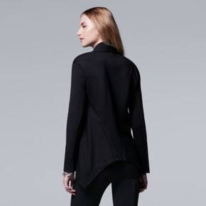 Women's Simply Vera Vera Wang Asymmetrical Jacket