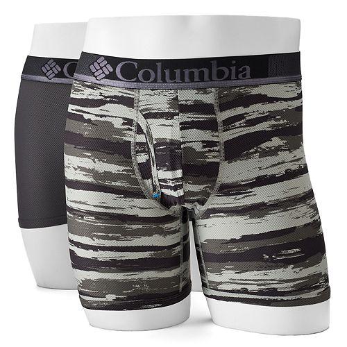 Men's Columbia 2-pack Omni-Wick Boxer Briefs