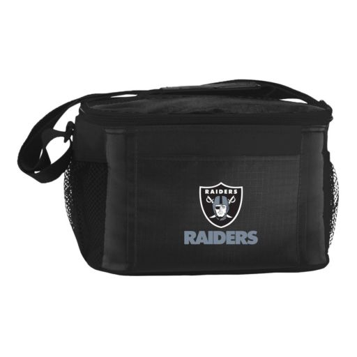 Kolder Oakland Raiders 6-Pack Insulated Cooler Bag