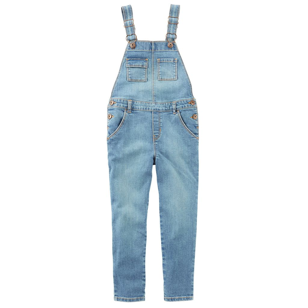 Girls 4-8 OshKosh B'gosh® Denim Overalls