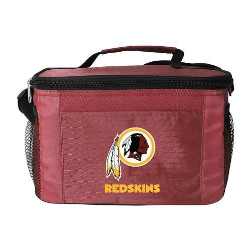 Kolder Washington Redskins 6-Pack Insulated Cooler Bag