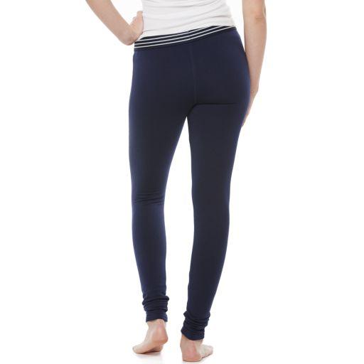 Juniors' SO® Fleece-Lined Leggings