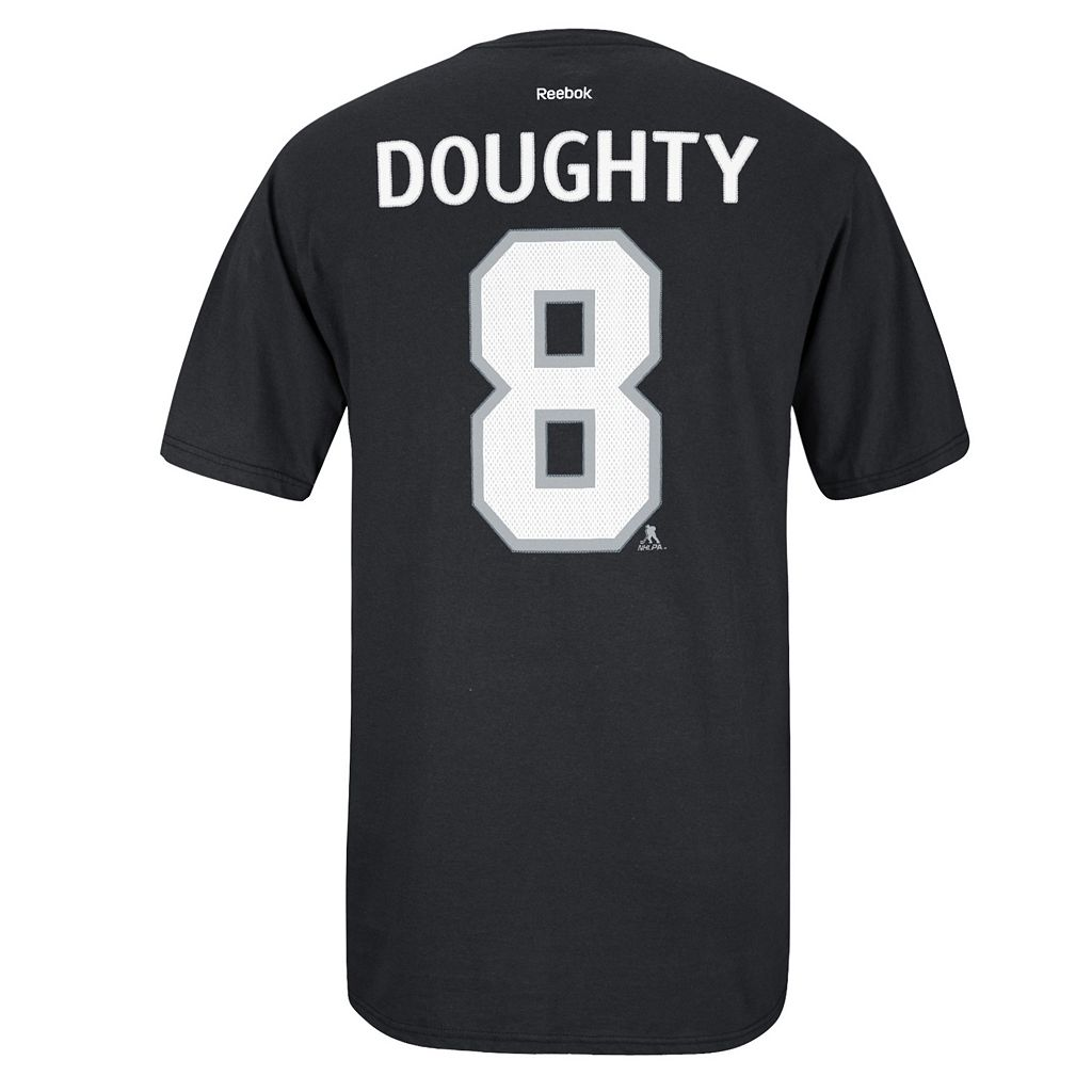 Men's Reebok Los Angeles Kings Drew Doughty Premier Tee