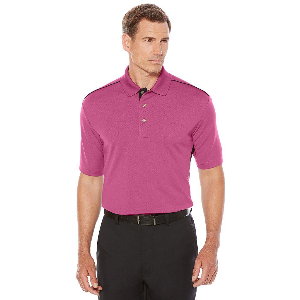 Men's Grand Slam Classic-Fit Colorblock Performance Golf Polo