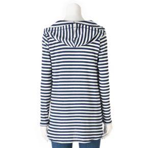 Women's Olivia Sky Striped Thermal Tunic