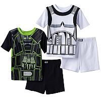 Boys 6-12 Rogue One: A Star Wars Story 4-Piece Pajama Set