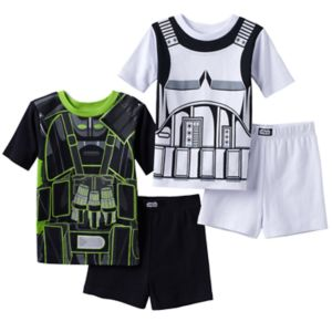 Boys 6-12 Rouge One: A Star Wars Story 4-Piece Pajama Set