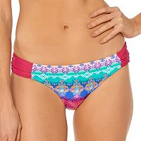 Women's Pink Envelope Tribal Bikini Bottoms