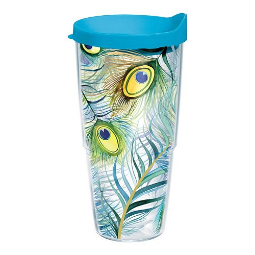 Peacock Feathers Tumbler by Tervis