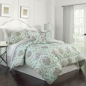 Waverly 4-piece Happy Festival Comforter Set