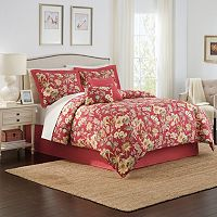 Traditions by Waverly 4-piece Honeymoon Comforter Set