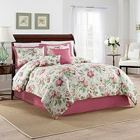 Traditions by Waverly 4-piece Forever Yours Comforter Set