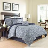 Waverly 4-piece Paddock Shawl Comforter Set