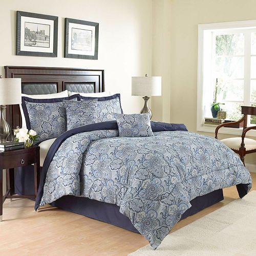 Waverly 4-piece Paddock Shawl Comforter Set