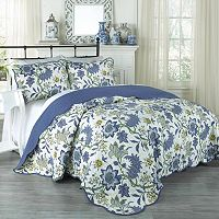 Traditions by Waverly 3 pc Maldives Quilt Set