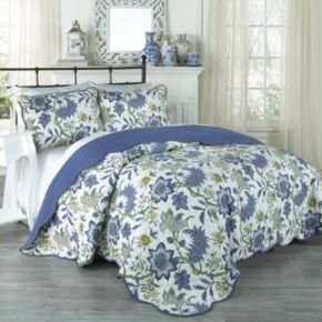 Traditions by Waverly 3-piece Maldives Quilt Set