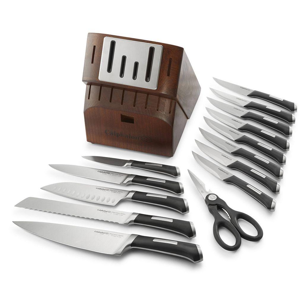Calphalon Precision SharpIN 15-pc. Self-Sharpening Knife Block Set