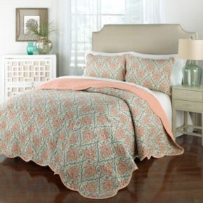 Traditions by Waverly 3-piece Anatalya Quilt Set