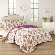 Traditions by Waverly 3 pc Primrose Quilt Set