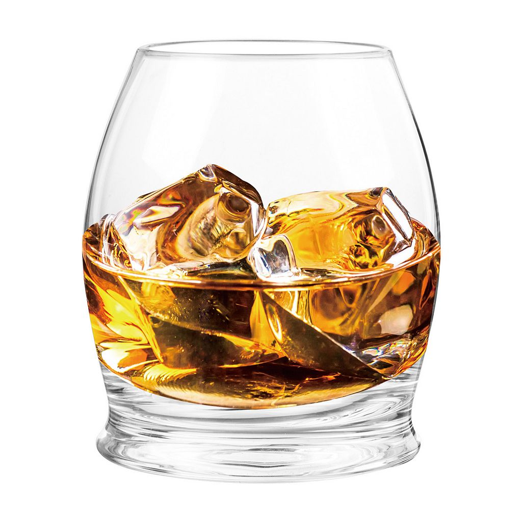 Qualia 2-pc. Bourbon Glass Set