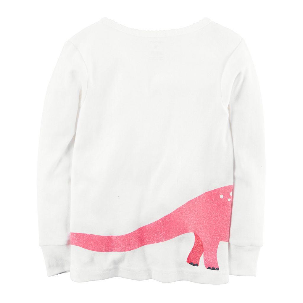Girls 4-12 Carter's 4-pc. Dinosaur Pajama Set