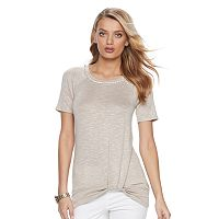 Women's Juicy Couture Embellished Twist Top