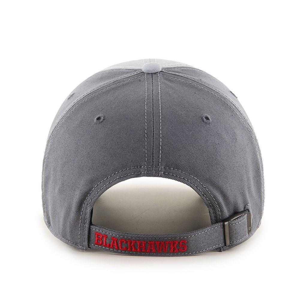 Adult '47 Brand Chicago Blackhawks Northside Clean Up Adjustable Cap