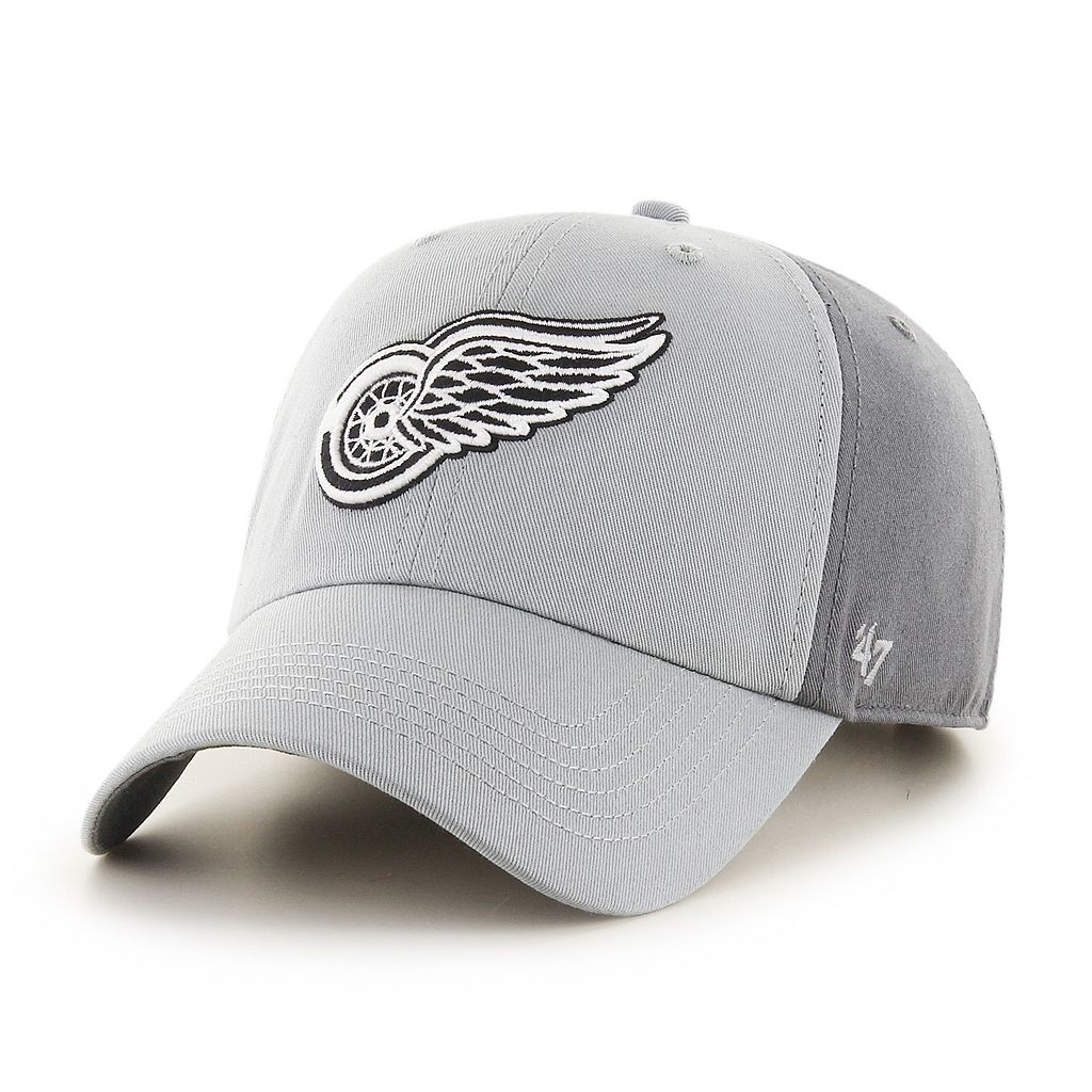 Adult '47 Brand Detroit Red Wings Northside Clean Up Adjustable Cap