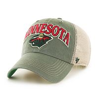 Adult '47 Brand Minnesota Wild Tuscaloosa Adjustable Cap