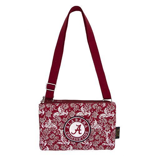 Alabama Crimson Tide Bloom Crossbody Bag