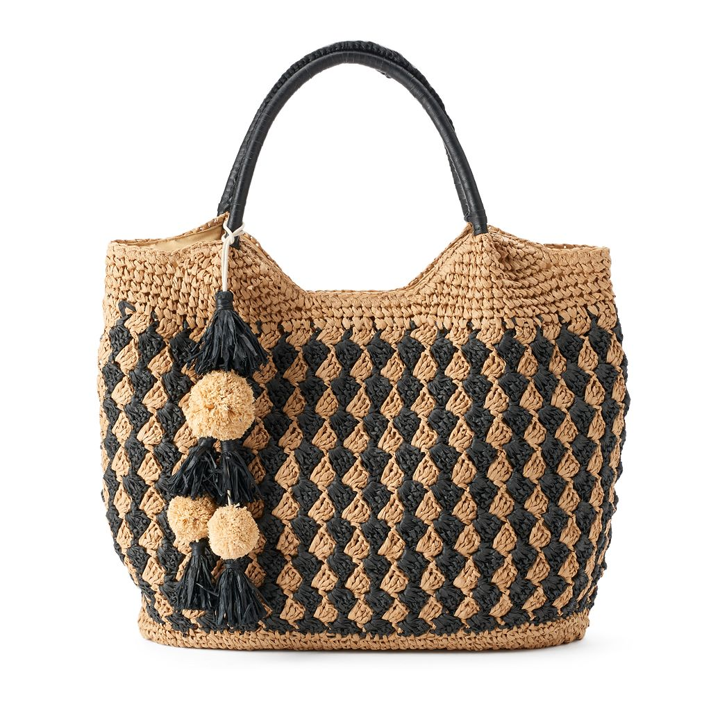 SONOMA Goods for Life™ Jordyn Straw Tote
