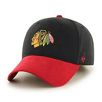 Youth '47 Brand Chicago Blackhawks Short Stack Adjustable Cap