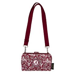 Alabama Crimson Tide Bloom Crossbody Wallet