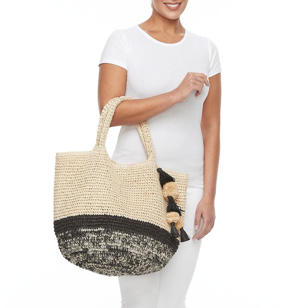 SONOMA Goods for Life™ Cara Straw Tote