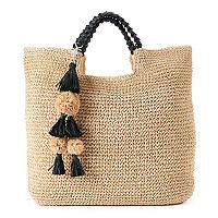 SONOMA Goods for Life™ Lindsay Straw Tote