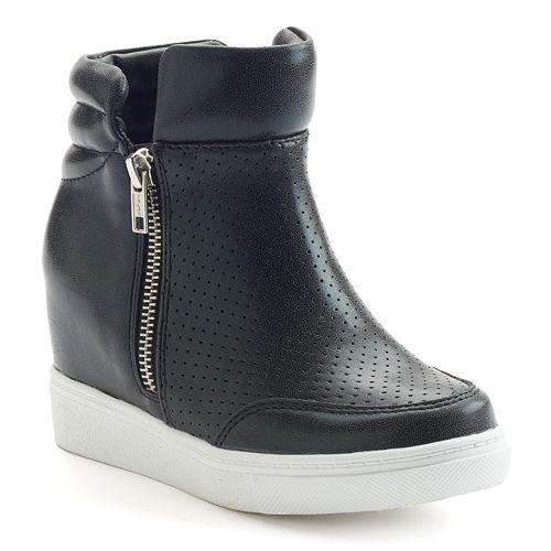 SO® Kia Girls' Wedge Sneakers