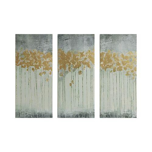 Madison Park Evening Forest Canvas Wall Art 3-piece Set