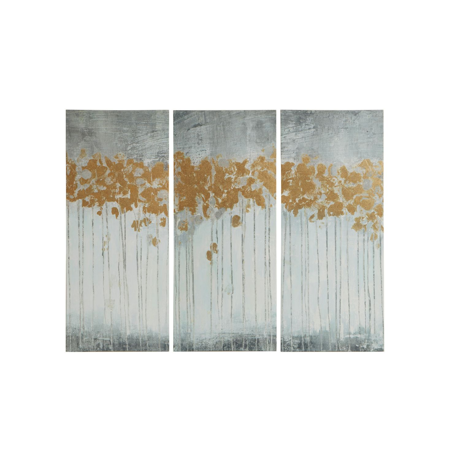 Superbe Madison Park Evening Forest Canvas Wall Art 3 Piece Set