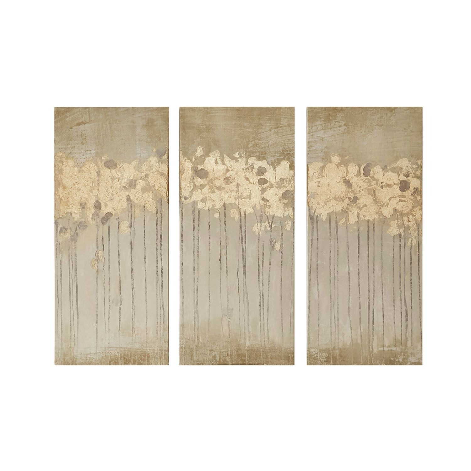 Madison Park Evening Forest Canvas Wall Art 3 Pc Set