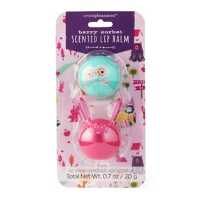 Simple Pleasures 2-pk. Berry Sorbet Lip Balm Pods