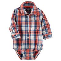 Baby Boy OshKosh B'gosh® Button-Front Bodysuit