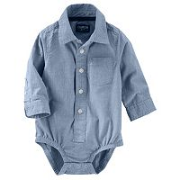 Baby Boy OshKosh B'gosh® Button-Front Bodysuit