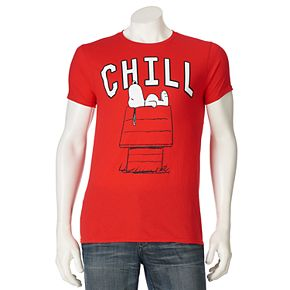 "Men's Peanuts Snoop ""Chill"" Tee"