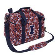 Illinois Fighting Illini Bloom Mini Duffle Bag