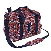 Illinois Fighting Illini Bloom Mini Duffle Bag