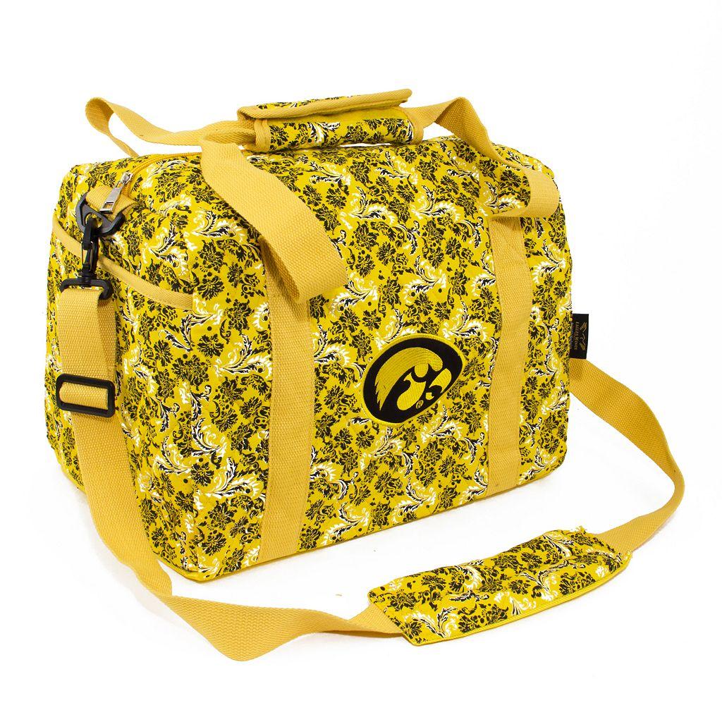 Iowa Hawkeyes Bloom Mini Duffle Bag